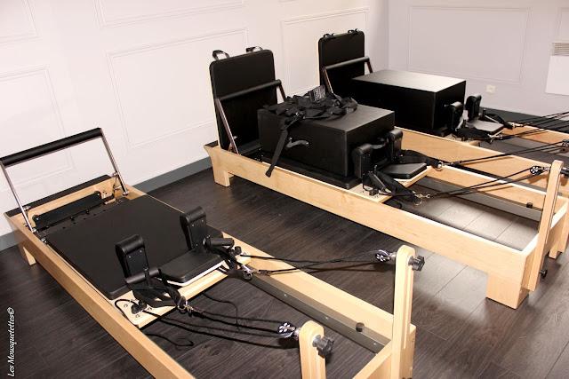 Machine pour pratiquer un certain Pilate - Centre Origyn - Blog beauté Les Mousquetettes©