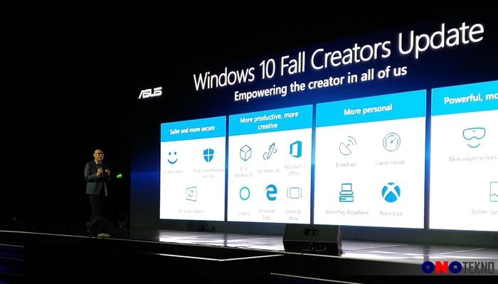 Windows 10 Menjadi Standard OS di Jajaran Notebook Terbaik Asus
