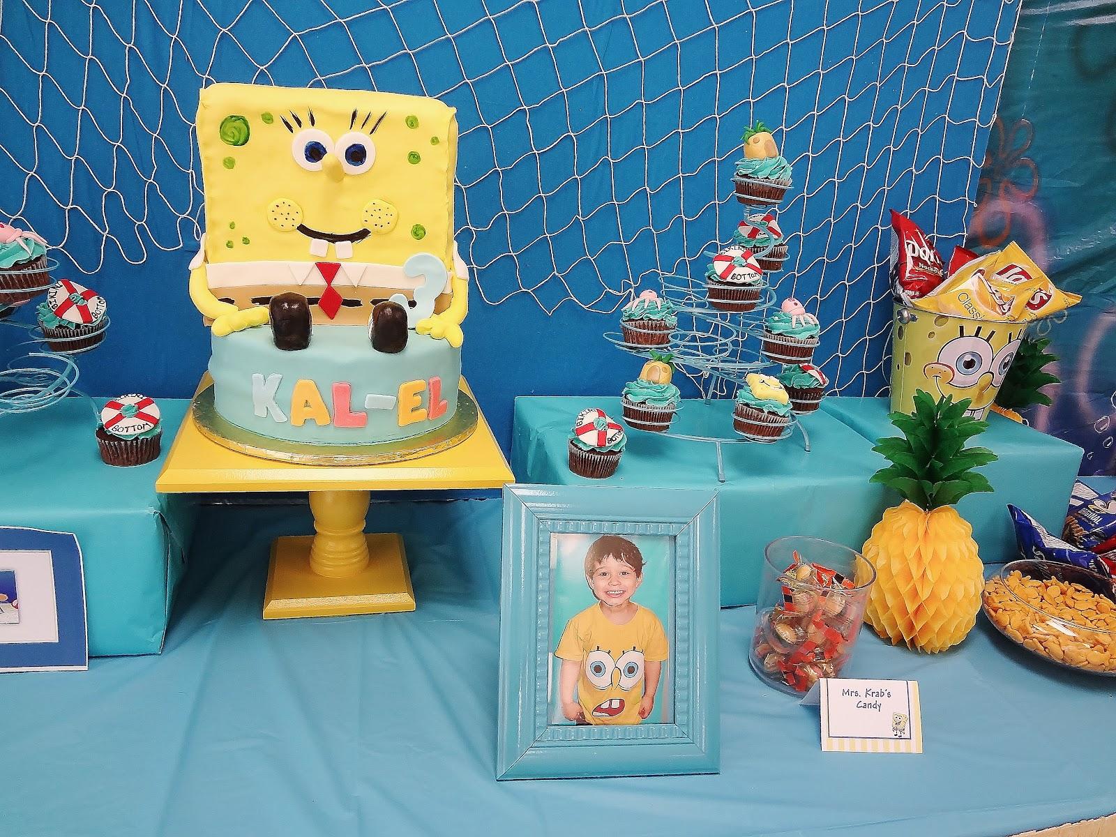 Karo S Fun Land Party Feature Spongebob Birthday Party