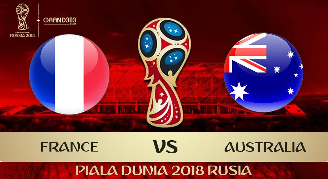Prediksi Bola Biru Perancis vs Australia Piala Dunia 2018