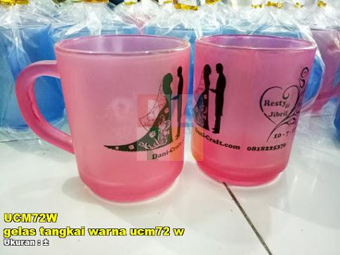 gelas tangkai warna ucm72 w