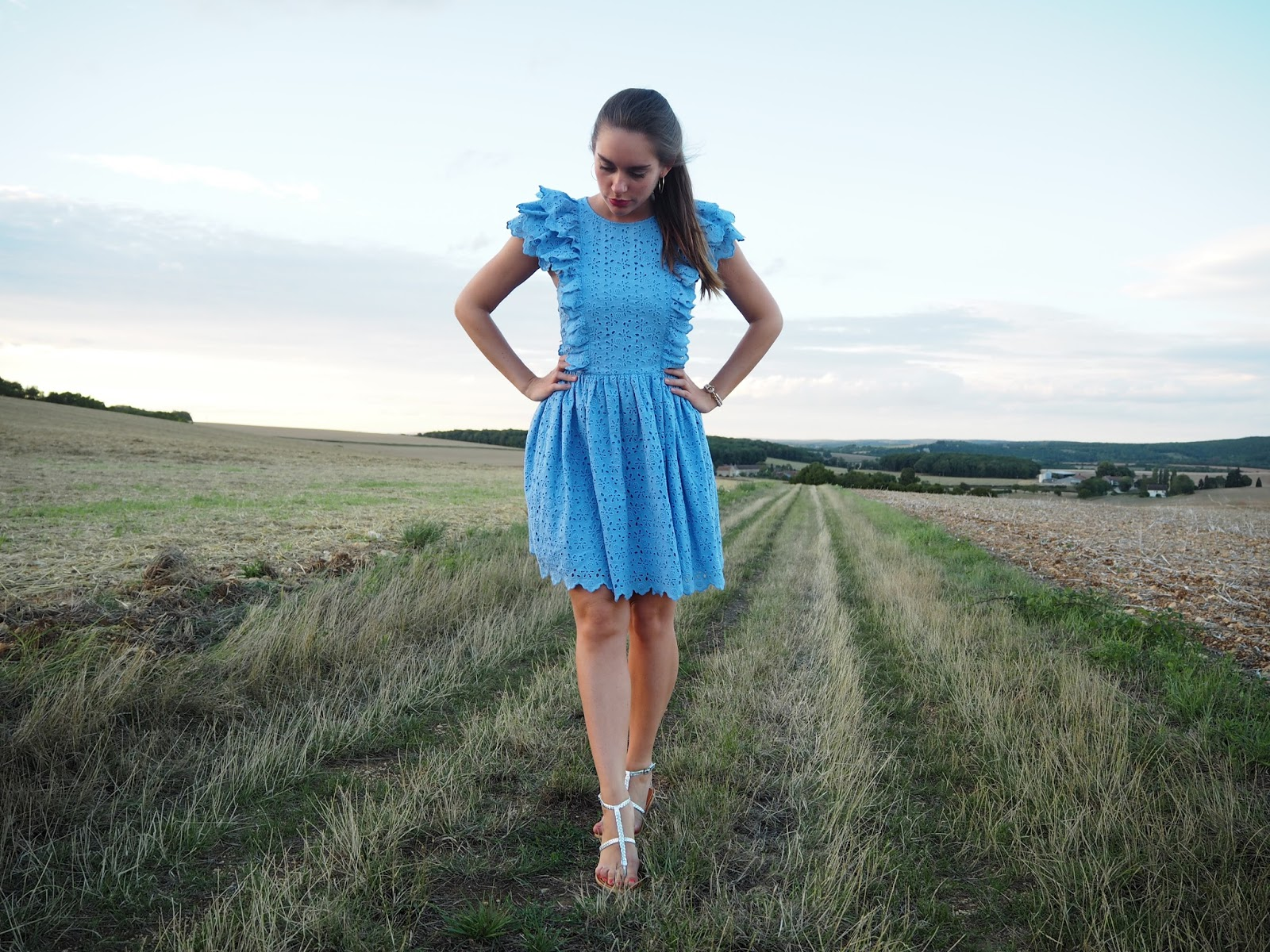 robe hm blogueuse