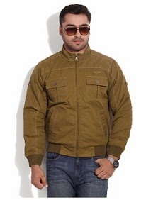 Duke Brown Cotton Quilted Jacket worth Rs.3245 for Rs.1590 Only @ Flipkart (Lowest Price)