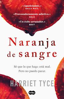 Naranja de sangre de Harriet Tyce