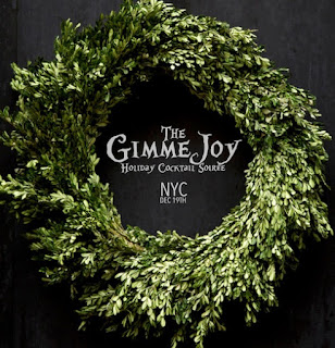 GIMMEJOY 2015, New York's first all-inclusive, farm-to-bar holiday immersive, Sat Dec 19th 9:00p-2a, POVERTY ROW, 277 Grand Street 3rd fl