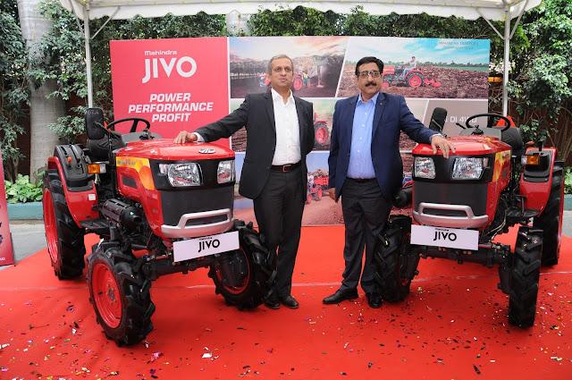 Mahindra Launches JIVO - A New Small Tractor Platform