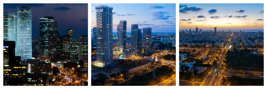 Tel Aviv At Night | TLSpot.com - Tel Aviv Photo Tour