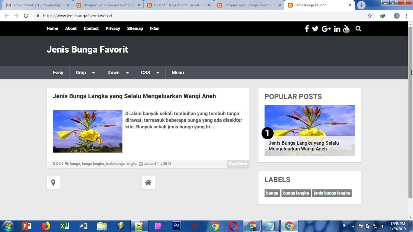 Cara Menambahkan Gambar Di Sidebar Blog