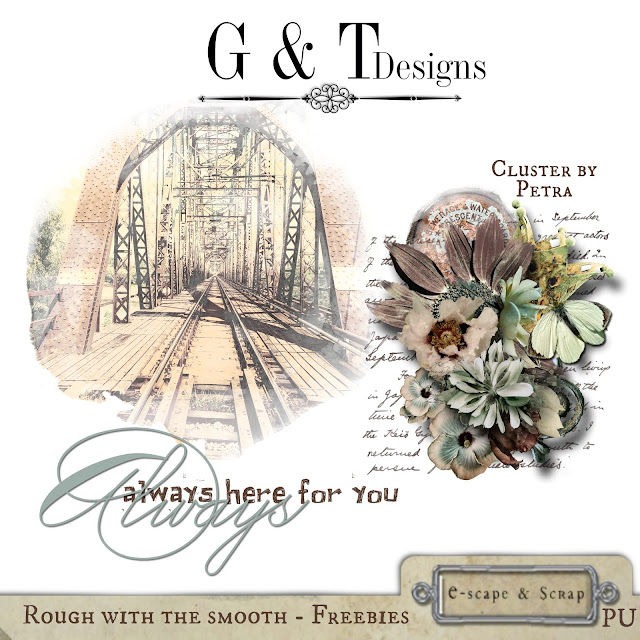 G&T Designs - Rough with the Smooth & Freebies