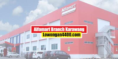 Lowongan Kerja SMK Alfamart Branch Karawang 2020