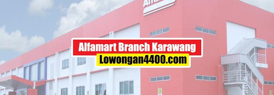 Lowongan Kerja SMK Alfamart Branch Karawang 2021