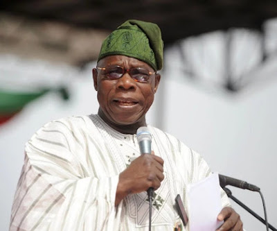 Obasanjo Surprisingly Shows Up At PDP Rally