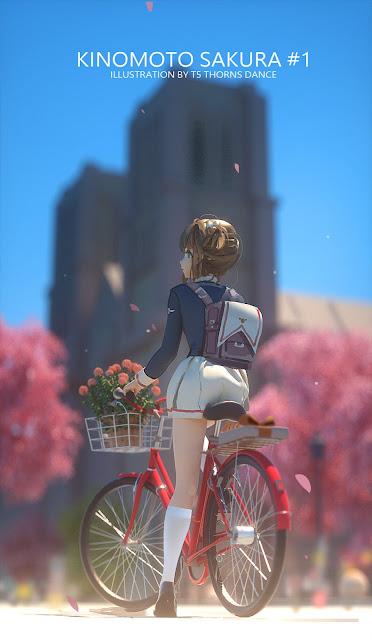 """""""Siêu lòng"""" các mẫu hình nền điện thoại Anime girl dễ thương"""