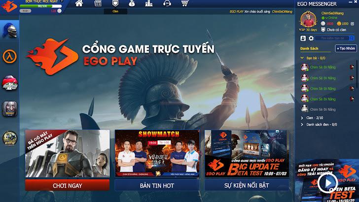 EGOPlay chuẩn bị Update phiên bản mới 2.0.0