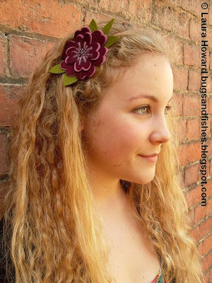 Felt Flower Headband Tutorial