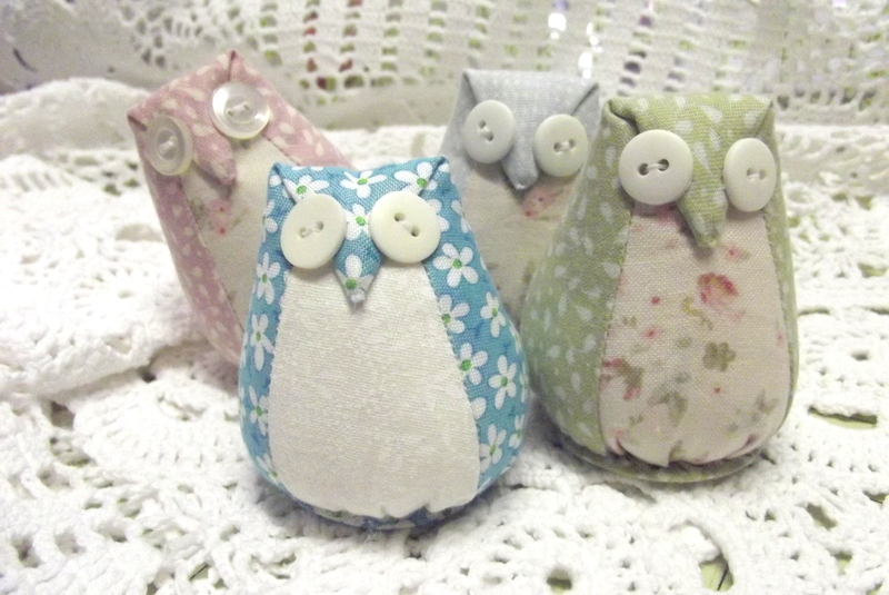 At Home With Rosie Make An Owl Pincushion