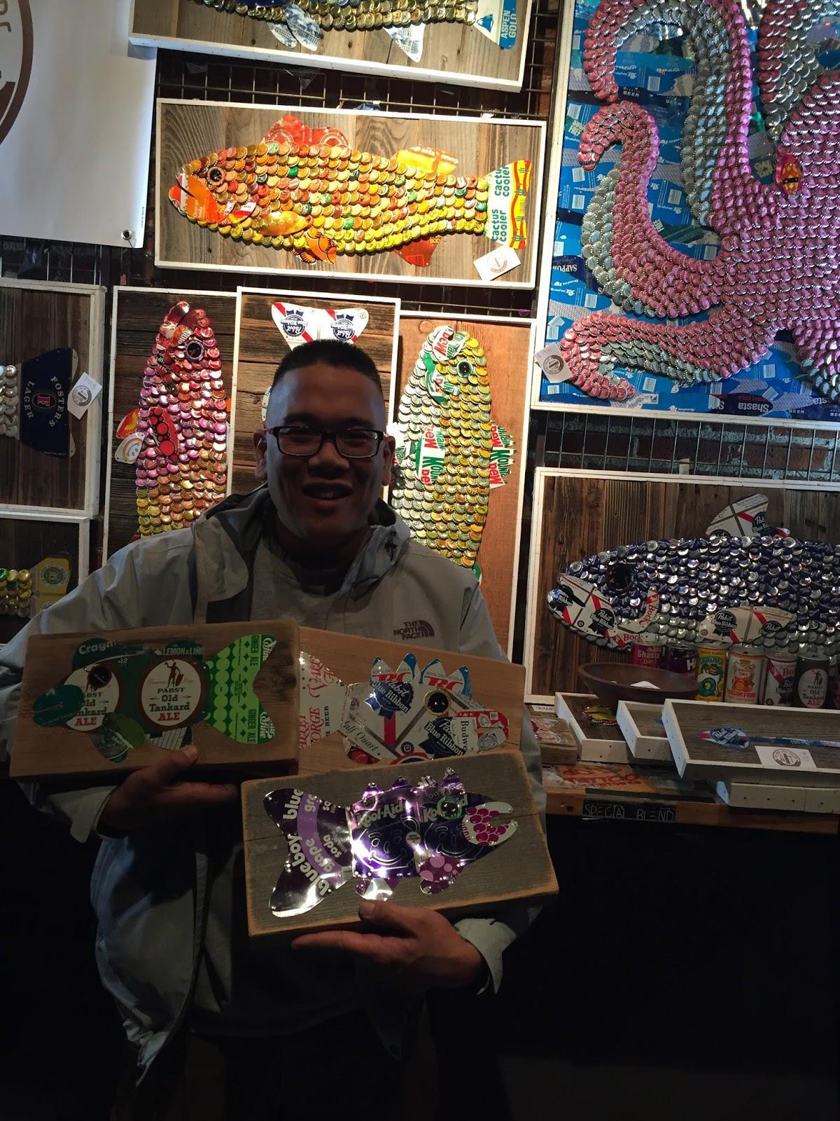 Pabst Blue Ribbon Art Showcase - Denver, Colorado | The Moore Family