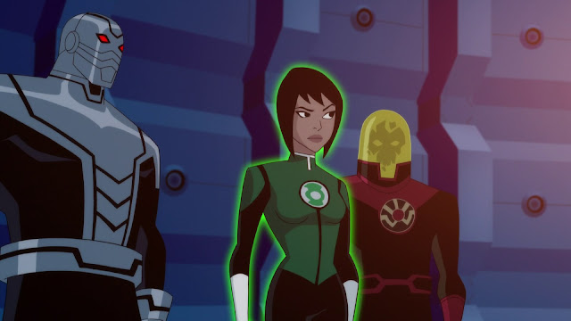 Justice League vs The Fatal Five imagenes JD