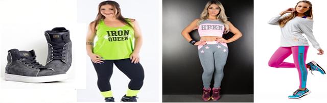 Tendências em roupas fitness feminino