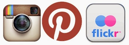 Perbedaan Antara Flickr, Instagram, dan  Pinterest