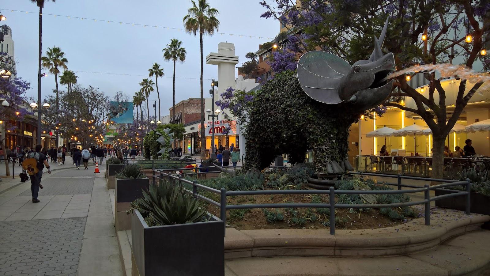 Santa Monica Los Angeles Amerikka Mallaspulla matkakertomus