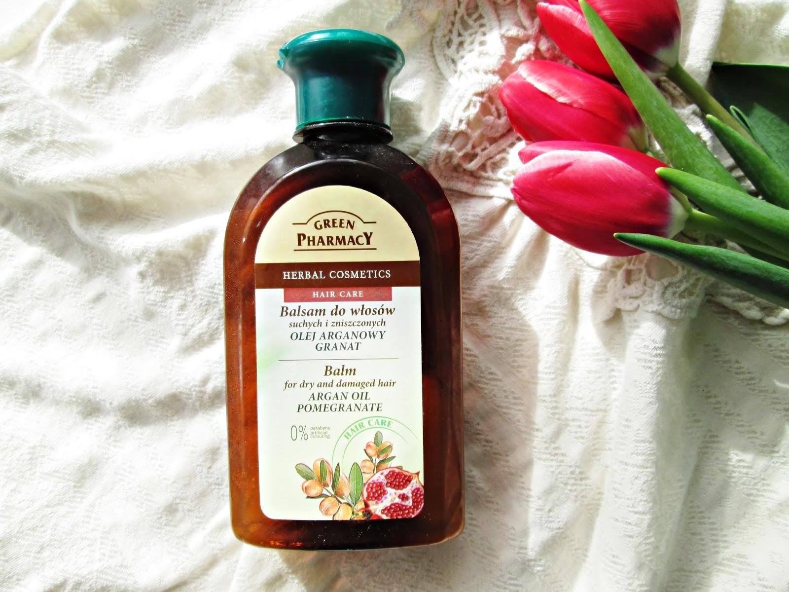 Balsam Green Pharmacy z olejem arganowym i granatem