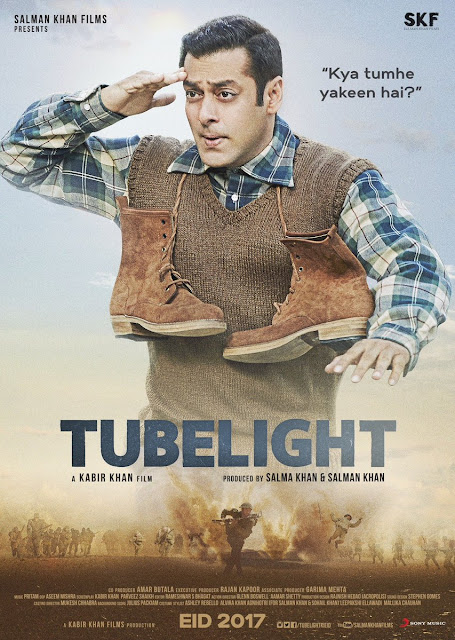 Tubelight, Tubelight Poster, Salman Khan Tubelight, Tubelight Salman Khan movie