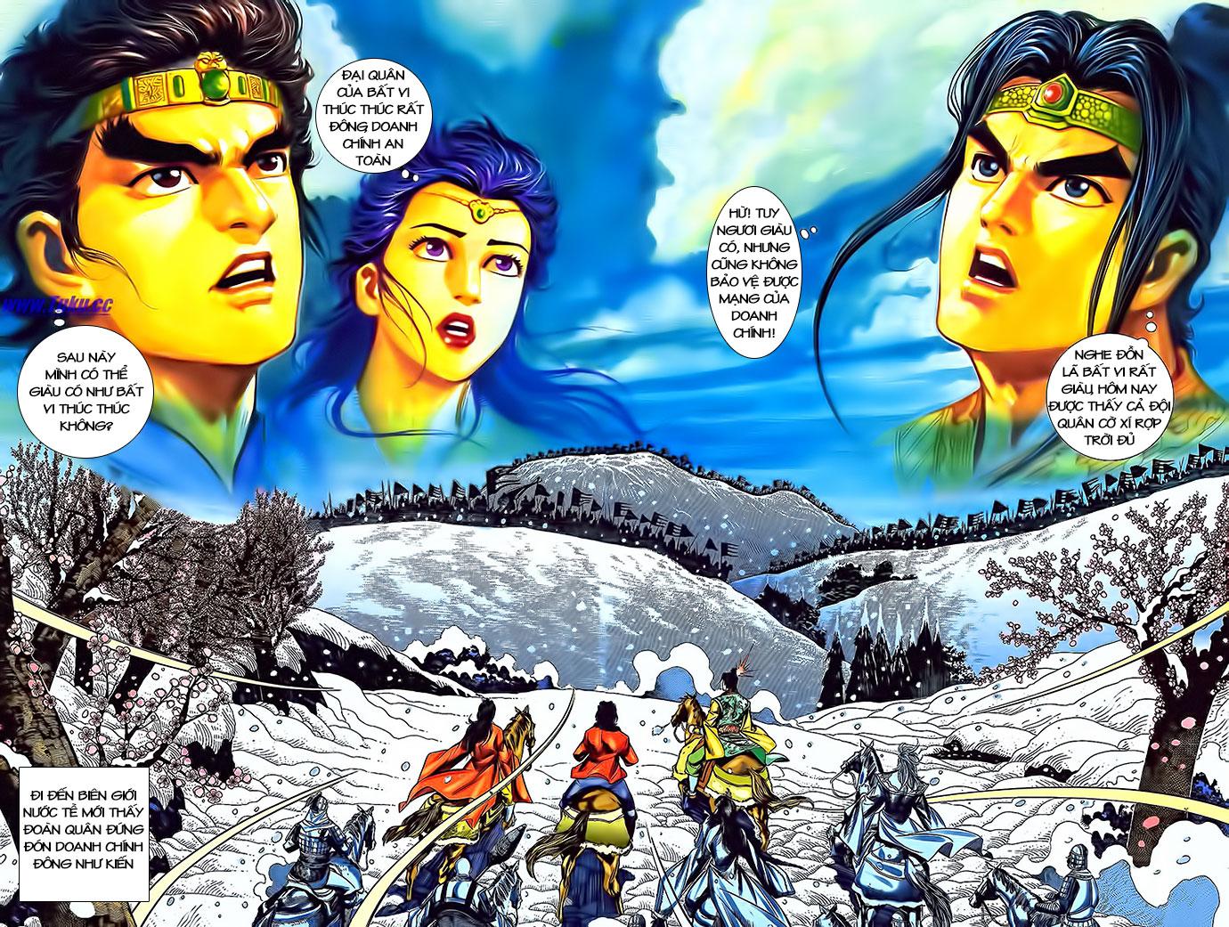 Tần Vương Doanh Chính chapter 3 trang 9