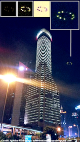 Foto Penampakan UFO di Shanghai Center Financial