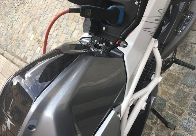 Energica moto elettriche testride Fiumalbo 2018