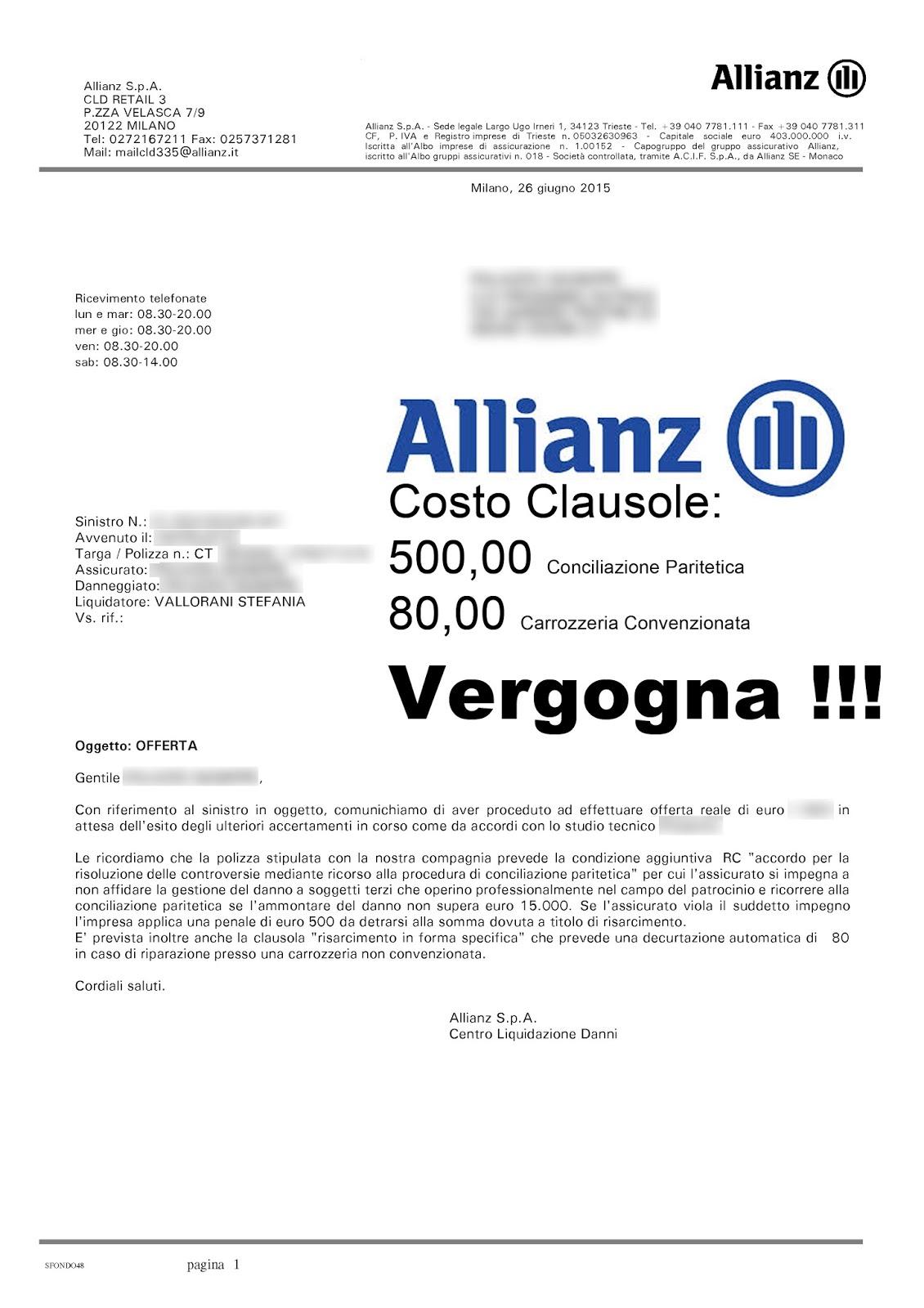 la e ANIA Allianz RCAuto IVASS K3u1JcTFl5