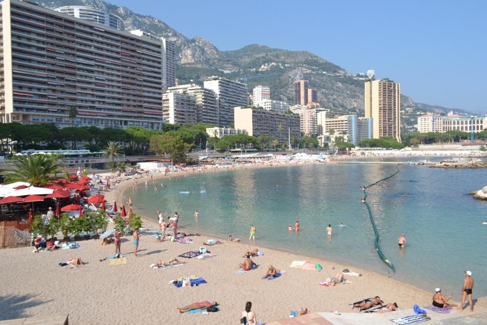 Plaja Monte-Carlo Monaco