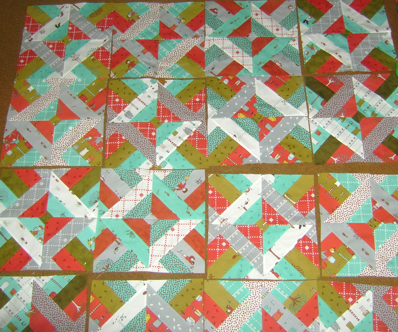 Free Pattern Friday Jelly Roll 1600 Katies Quilting