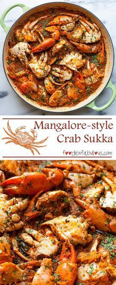 MANGALORE STYLE CRAB SUKKA - Seafood Recipes