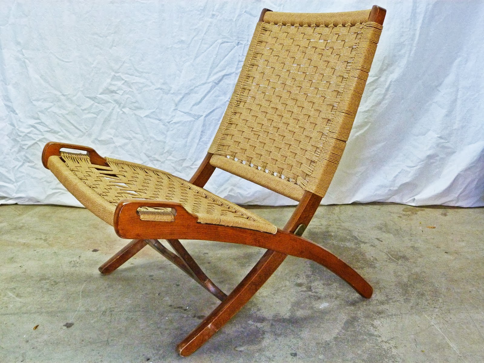 yugoslavian folding chair caravan canopy chairs modern mid century danish vintage furniture shop used