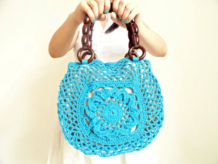 hannicraft: Crocheted and knitted purses for the Spring