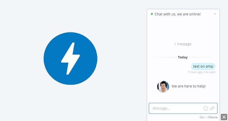 Memasang Chat Admin Dari Chatra Pada Blog AMP HTML