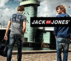 Jack & Jones Men's Clothing – Flat 60% Off starts from Rs. 244 at Amazon