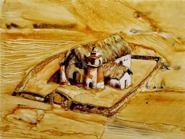 María Teresa Berrios pintura bodegón granja Bolivia