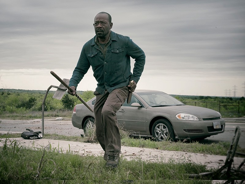 Morgan, en Fear The Walking Dead 4x11 The Code