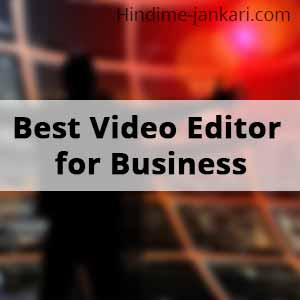 Best 2D & 3D Video Editing Software for Business Presentation