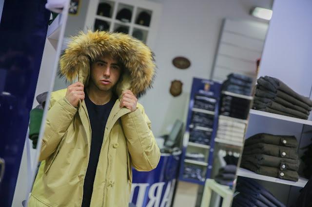 marina militare cappotto uomo