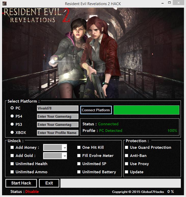 Resident Evil Revelations Trainer Download - mangoletter