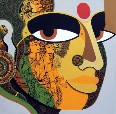 Modern & contemporary Art With Different Famous Indian ...