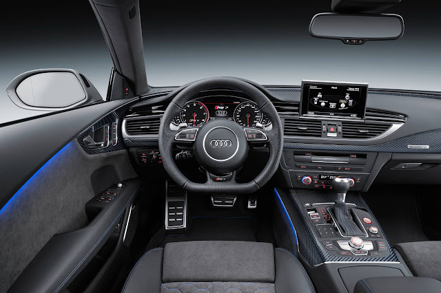 Audi RS7 Performance 2017 - interior