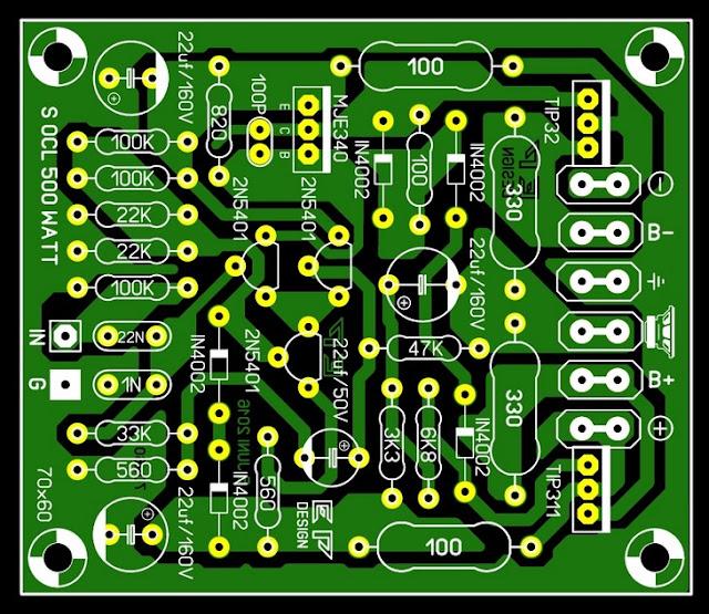 Pcb Circuit Board Scheme Layout Socl 504