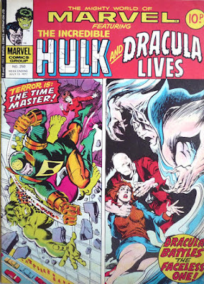 Mighty World of Marvel #250, Hulk and Dracula