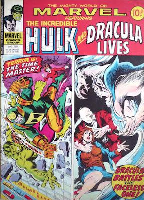 Mighty World of Marvel #250, Hulk and Dracula