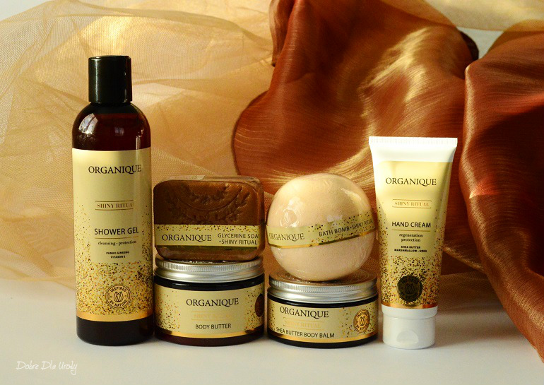 Organique Rytuał Shiny edycja limitowana - luksusowy zestaw kosmetyków do ciała o zapachu wanilii i przypraw