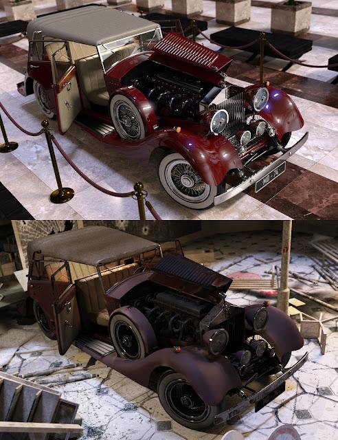 Car Mark Iray